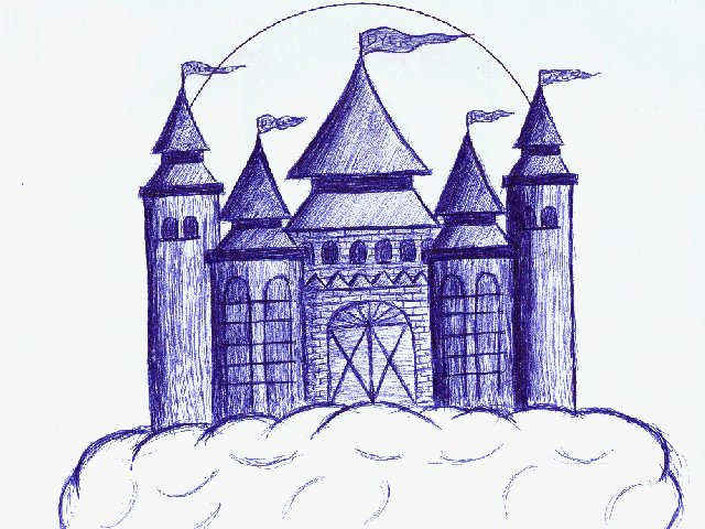 Castle- Actual size=180pixels wide